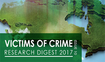 Victims of Crime Research Digest No. 10